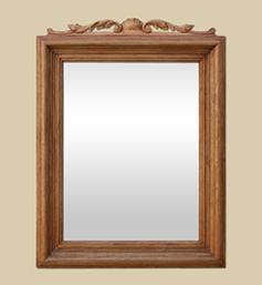 miroir-bois-ancien-a-fronton-chene