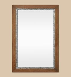 miroir-bois-ancien-annees-50-decor-argente