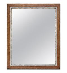 miroir-bois-ancien-argente-circa-1940
