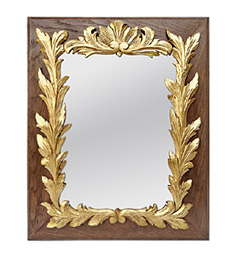 miroir-bois-dore-decor-sculpte-feuillages-circa-1940
