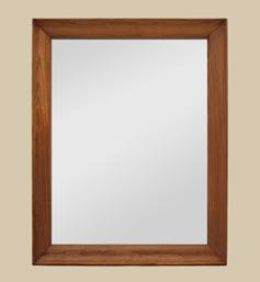 Miroir bois des années 50