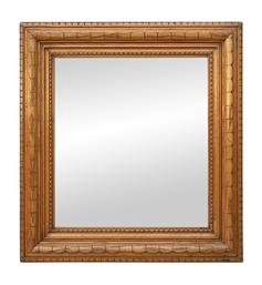 Miroir bois sculpté Art Populaire Breton