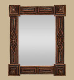 Miroir bois style oriental