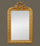 miroir-cheminee-napoleon-3-dore