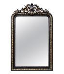 miroir-cheminee-noir-dore-fronton-mi