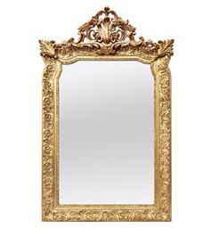miroir-dore-a-fronton-baroque-style-1880