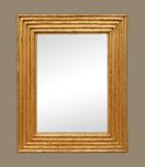 miroir-dore-cannelures-vi