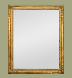 Miroir doré époque romantique