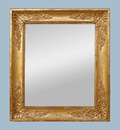 Miroir bois doré époque restauration