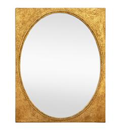 miroir-dore-forme-ovale-ancien