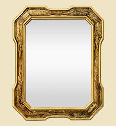 miroir-dore-octogonal-annees-70