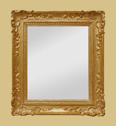 Miroir doré style Louis XIV