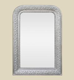 miroir-louis-philippe-argente-deco