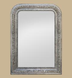 miroir-louis-philippe-argente-vieilli-a-decors