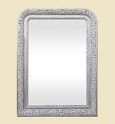 miroir-louis-philippe-cheminee-argente-patine-ancien