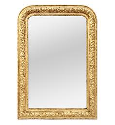 miroir-louis-philippe-dore-ancien-vintage