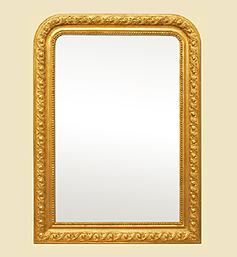 miroir-louis-philippe-dore-decor-1900-art-nouveau