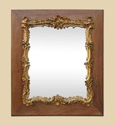 miroir-louis-xv-ancien-bois-et-or