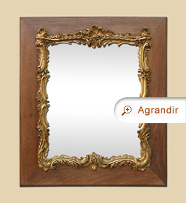miroir baroque miroirs anciens. Black Bedroom Furniture Sets. Home Design Ideas