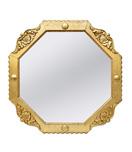 miroir-octogonal-dore-patine-vi