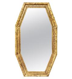 miroir-octogonal-dore-style-art-deco-1930
