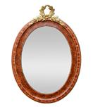 miroir-ovale-ancien-imitation-bois-de-rose-bois-de-loupe-vi