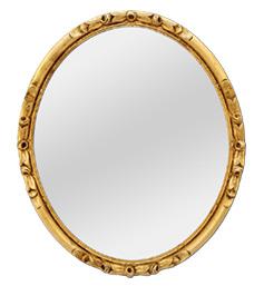 miroir-ovale-dore-1930