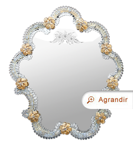 miroir-venitien-verre-murano-grave-decor-fleurs-or