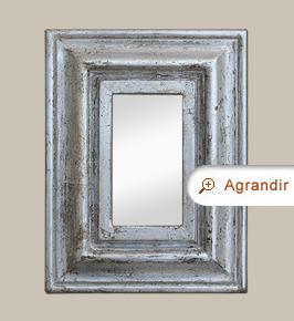 petit-miroir-ancien-argente-patine-moulure-annees-50