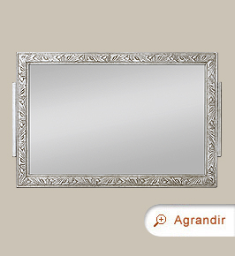 petit miroir ancien argent style art nouveau miroirs anciens. Black Bedroom Furniture Sets. Home Design Ideas