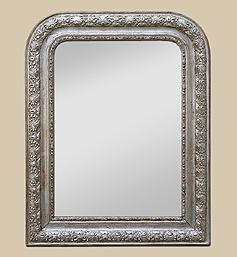 petit-miroir-argent-deco-louis-philippe-decors
