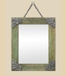 petit-miroir-bois-art-nouveau-decor-metal-vi