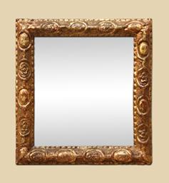 petit-miroir-dore-18-eme-siecle