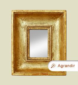 petit-miroir-dore-ancien-epoque-19eme
