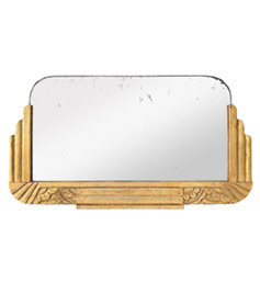 petit-miroir-dore-art-deco-ancien