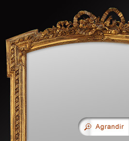 miroir chemin e napol on iii miroirs anciens. Black Bedroom Furniture Sets. Home Design Ideas